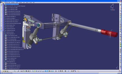 CATIA interface met transporter